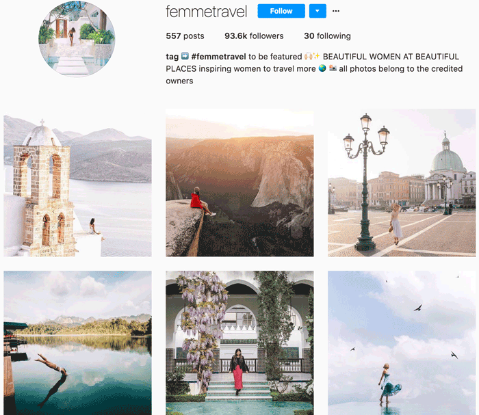 21 Instagram Accounts That Will Repost Your Legendary Travel Photos