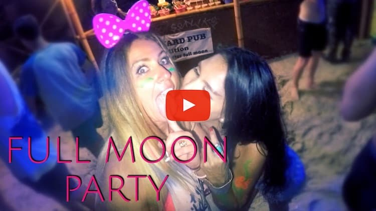 full moon party youtube video