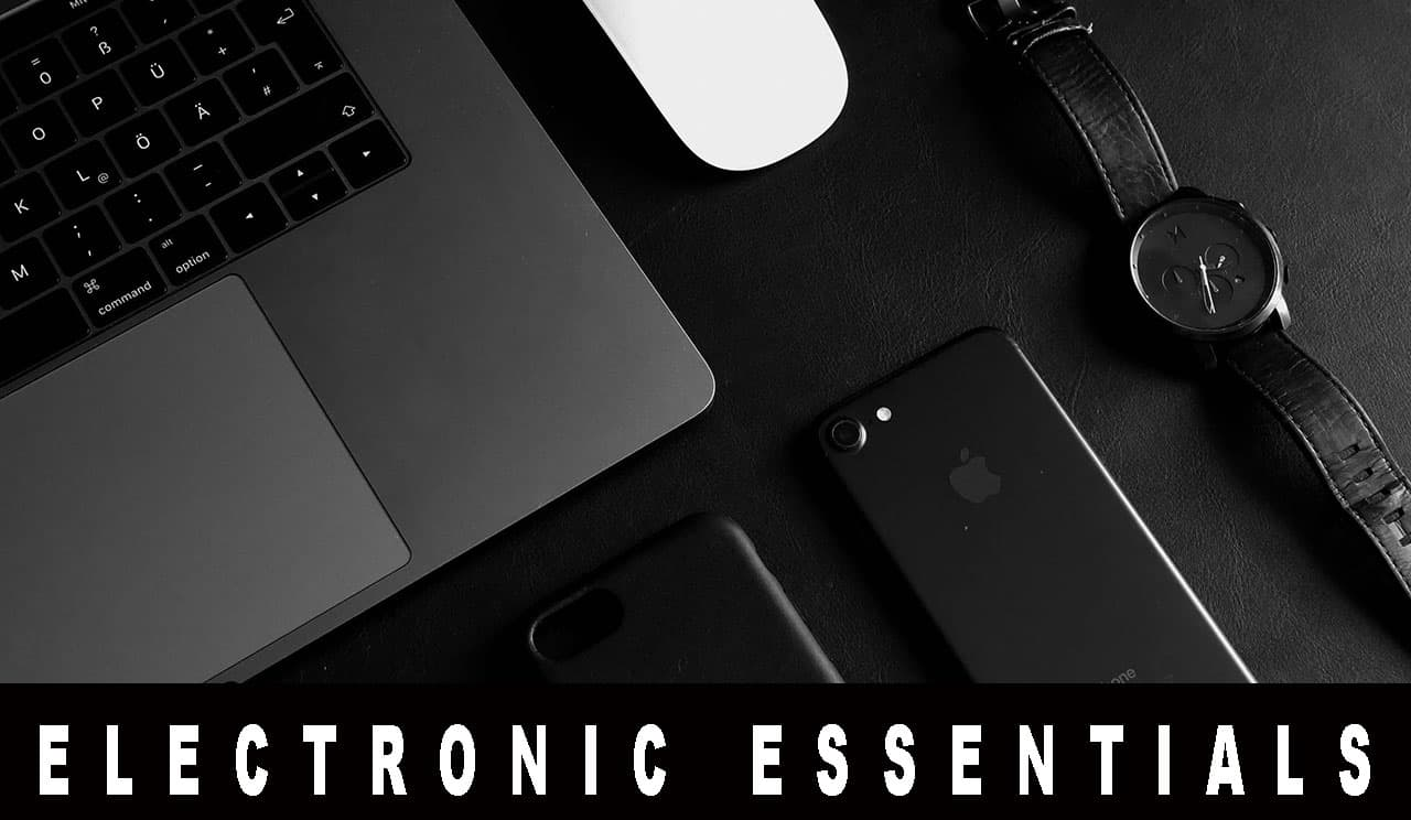 electronic travel essentials