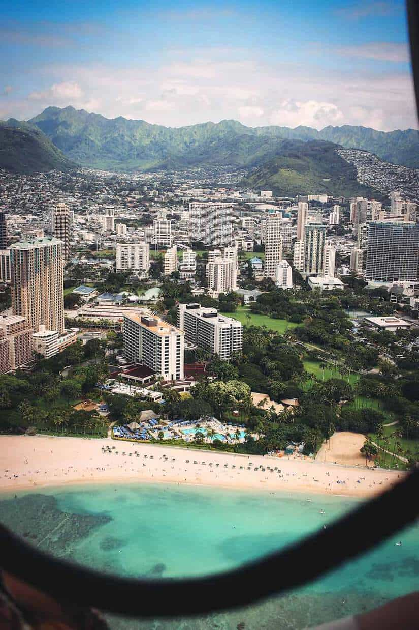 helicopter ride oahu