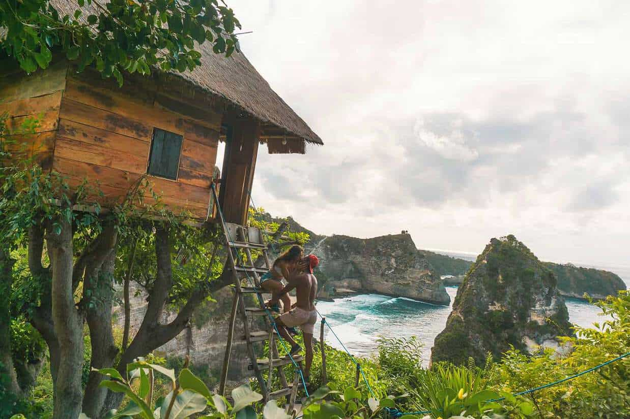 things to do in nusa penida rumah pohon treehouse