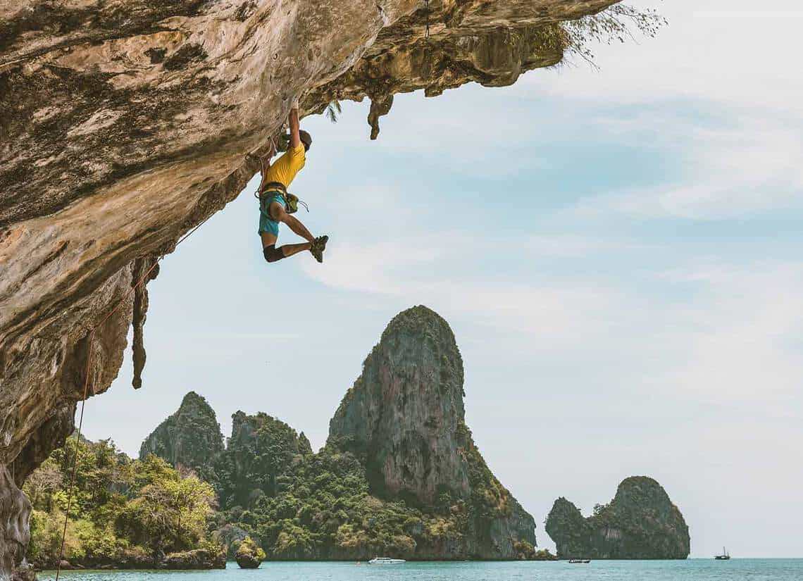tonsai bay rock climbing