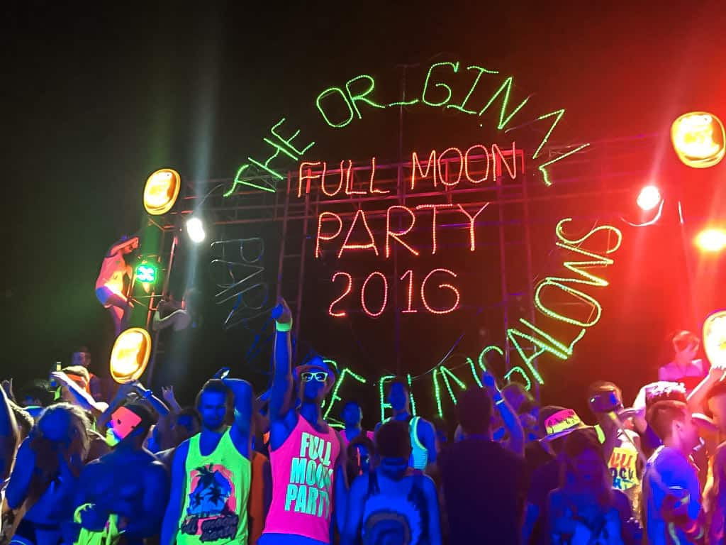 full moon party dance