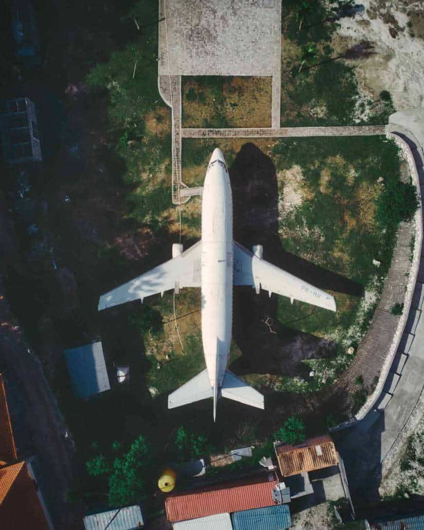 most instagrammable places in bali | uluwatu abandoned plane