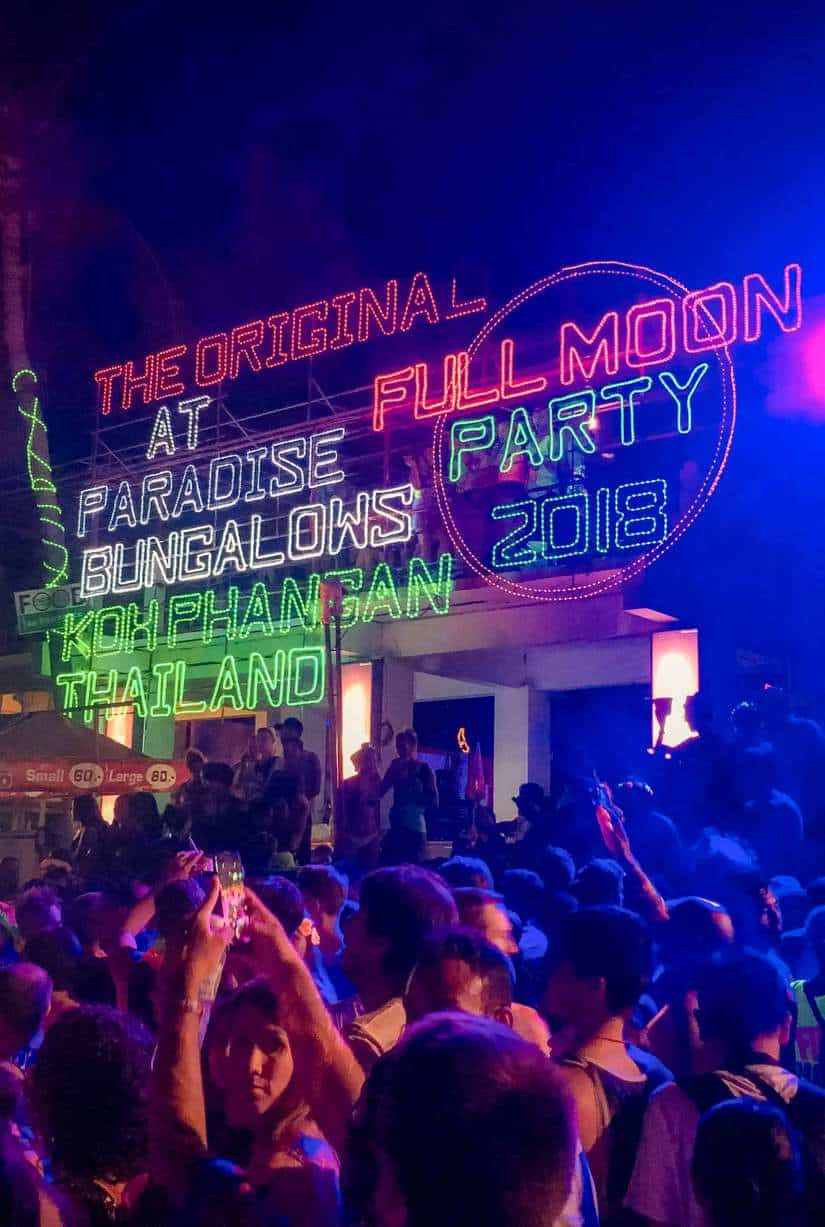 full moon party thailand 2020