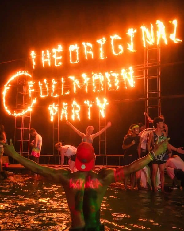 thailand full moon party dates