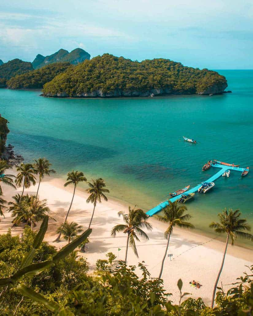 best thailand instagram spots | ang thong marine park