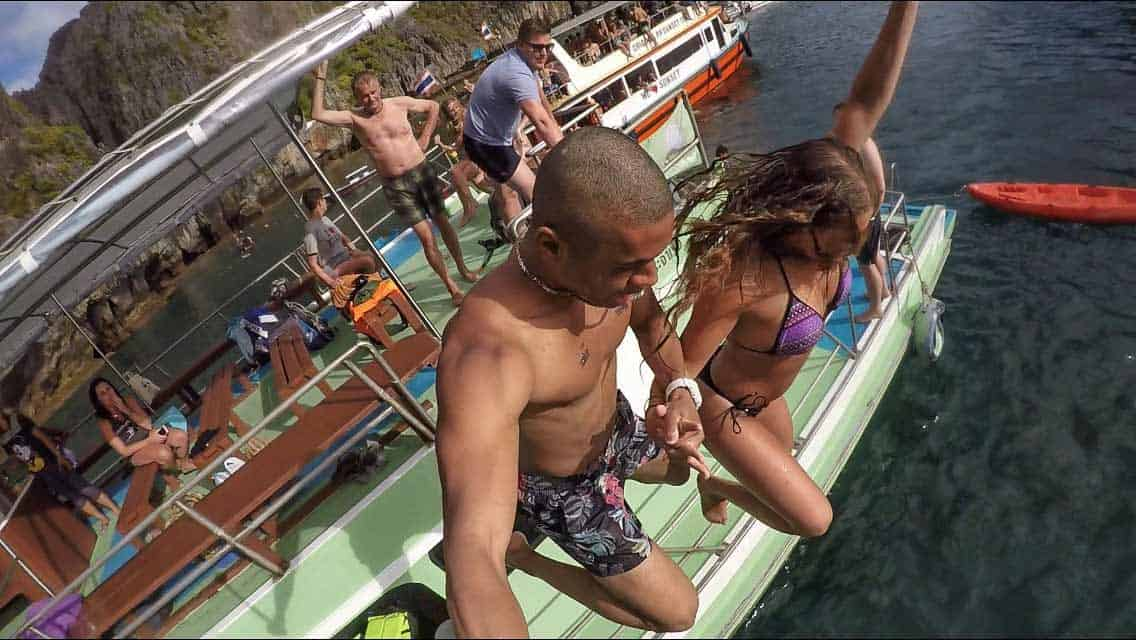 things to do in phi phi island blanco boat party