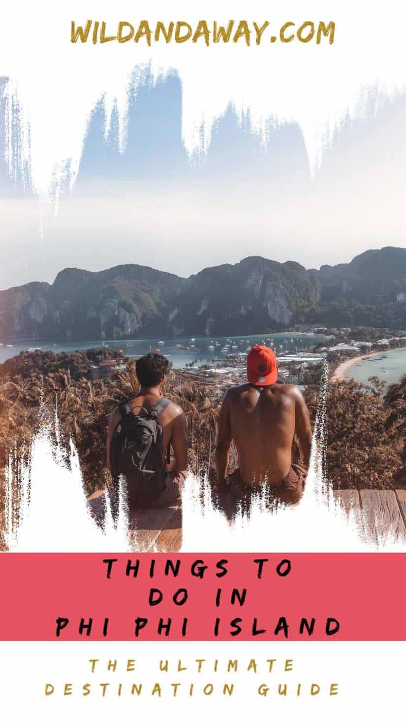things to do in phi phi island pinterest