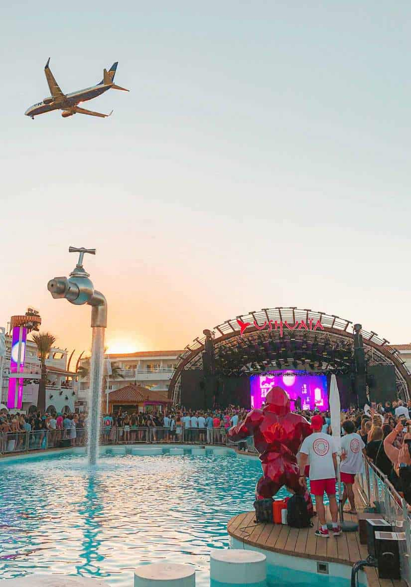 best party places in europe | ibiza spain club