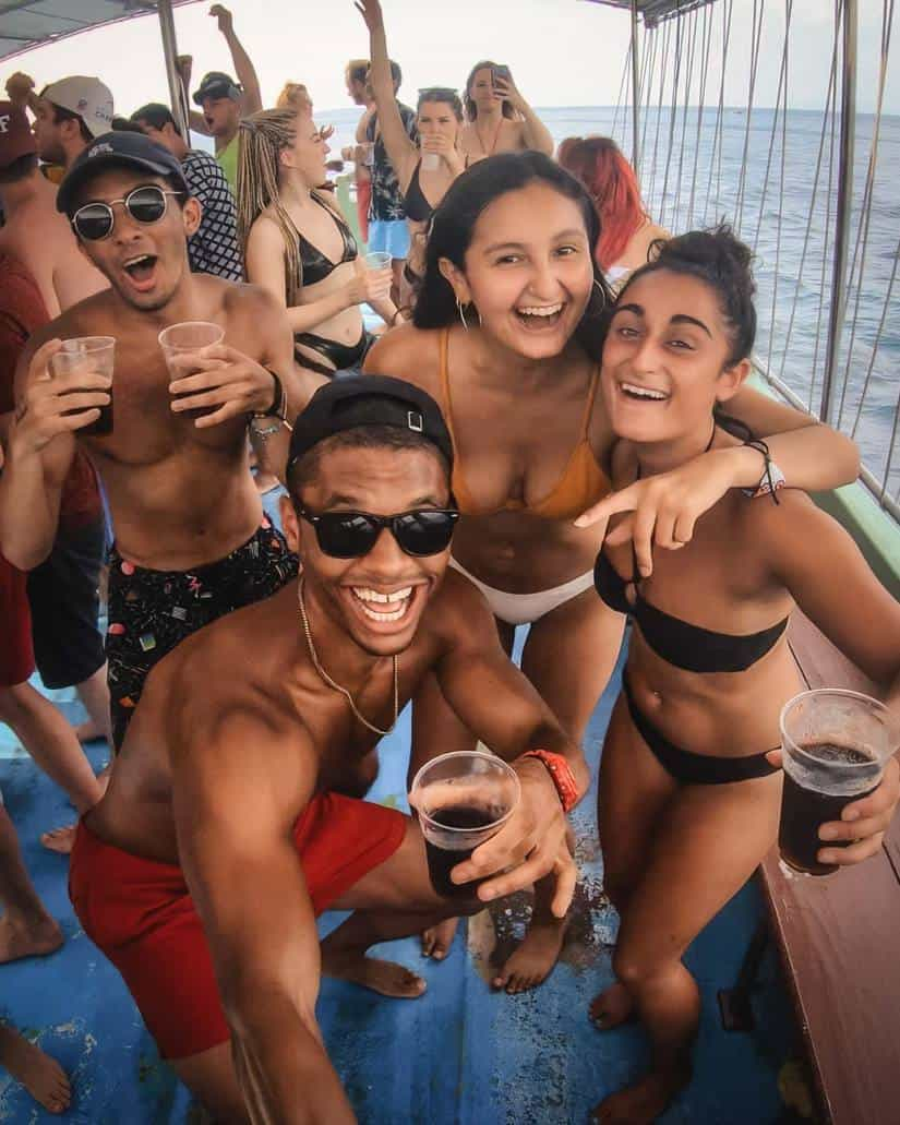 best party places in thailand | phi phi boat party