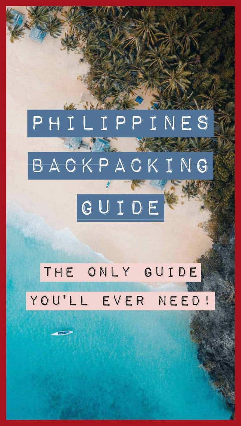 philippines backpacking guide pinterest