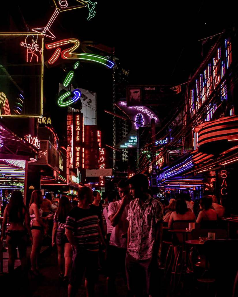 thailand nightlife _ khao san road bangkok