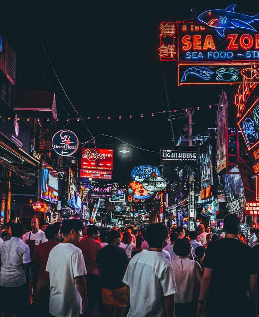 thailand nightlife guide | walking street pattaya