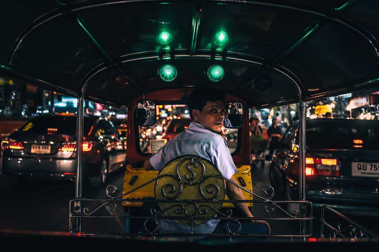 thailand tips and advice tuk tuk