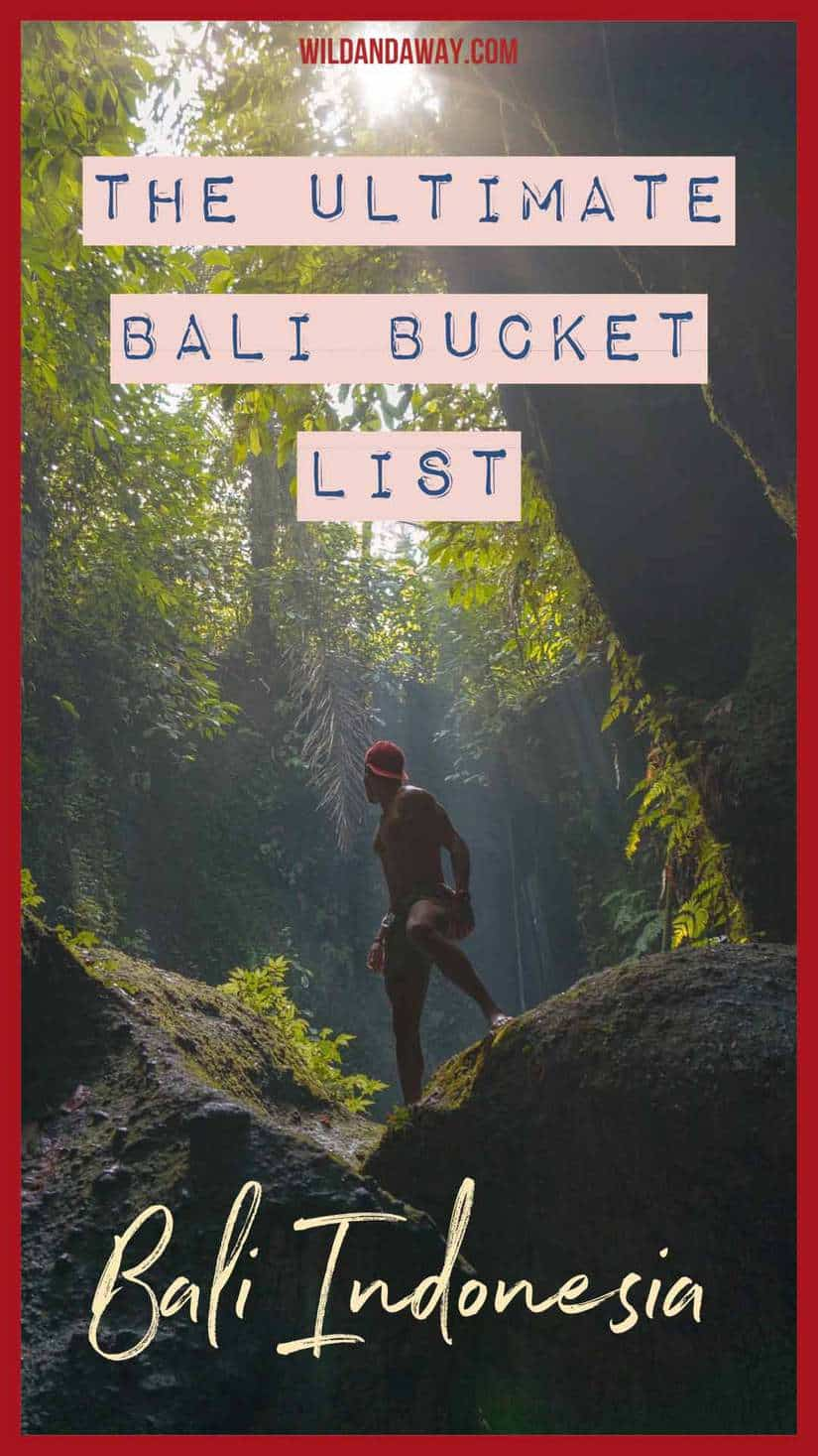 top things to do in bali indonesia pinterest