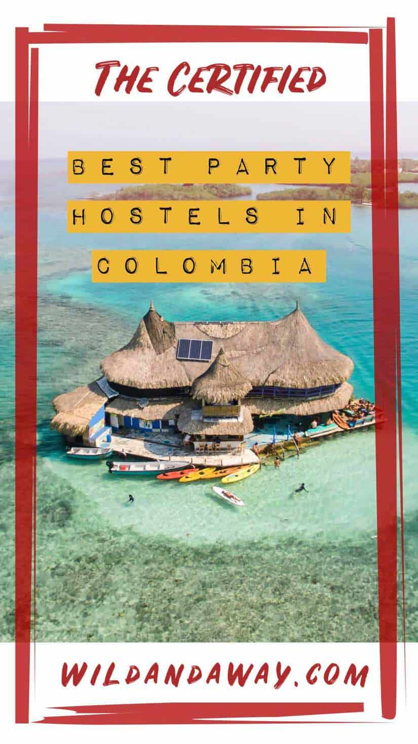 best party hostels in colombia