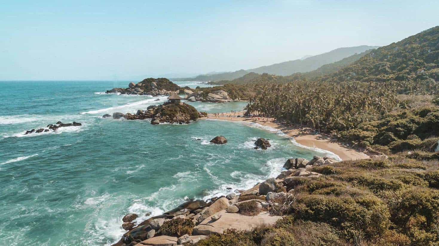 visiting tayrona national park colombia 2