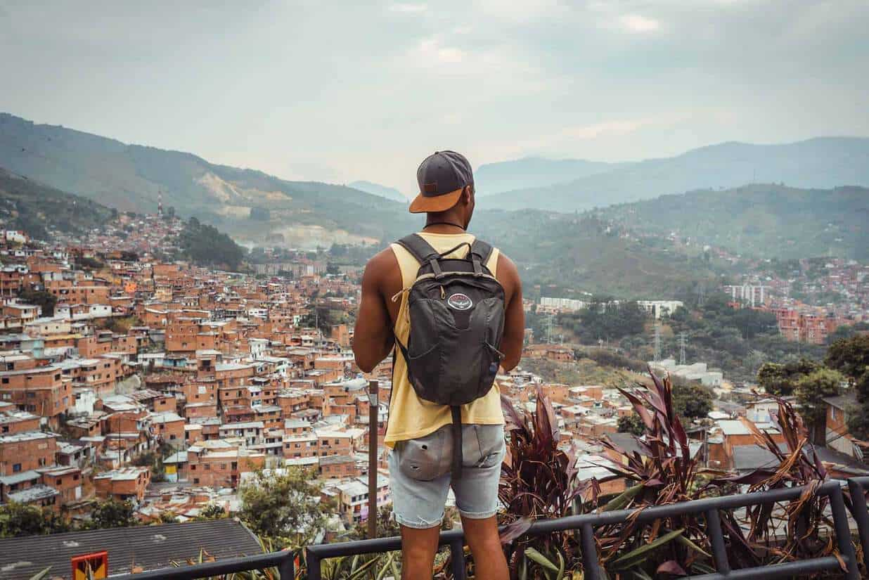 self-guided Comuna 13 tour