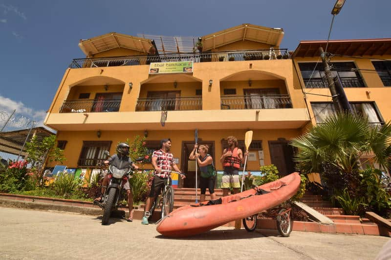 lake view hostel guatape