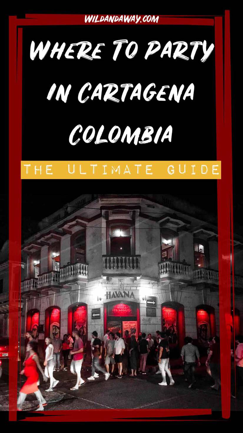 where to party in cartagena colombia