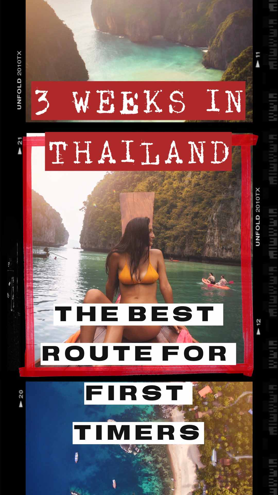 travel thailand in 3 weeks