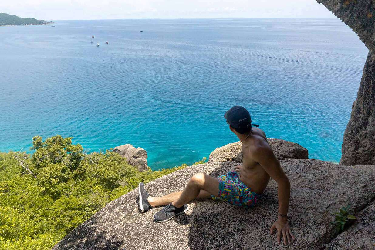 view of koh tao