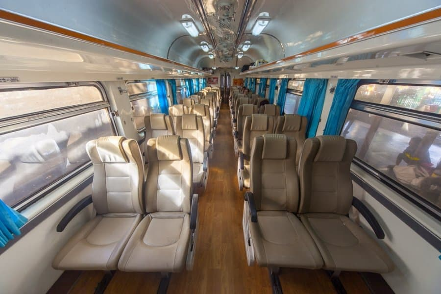 train seats bangkok
