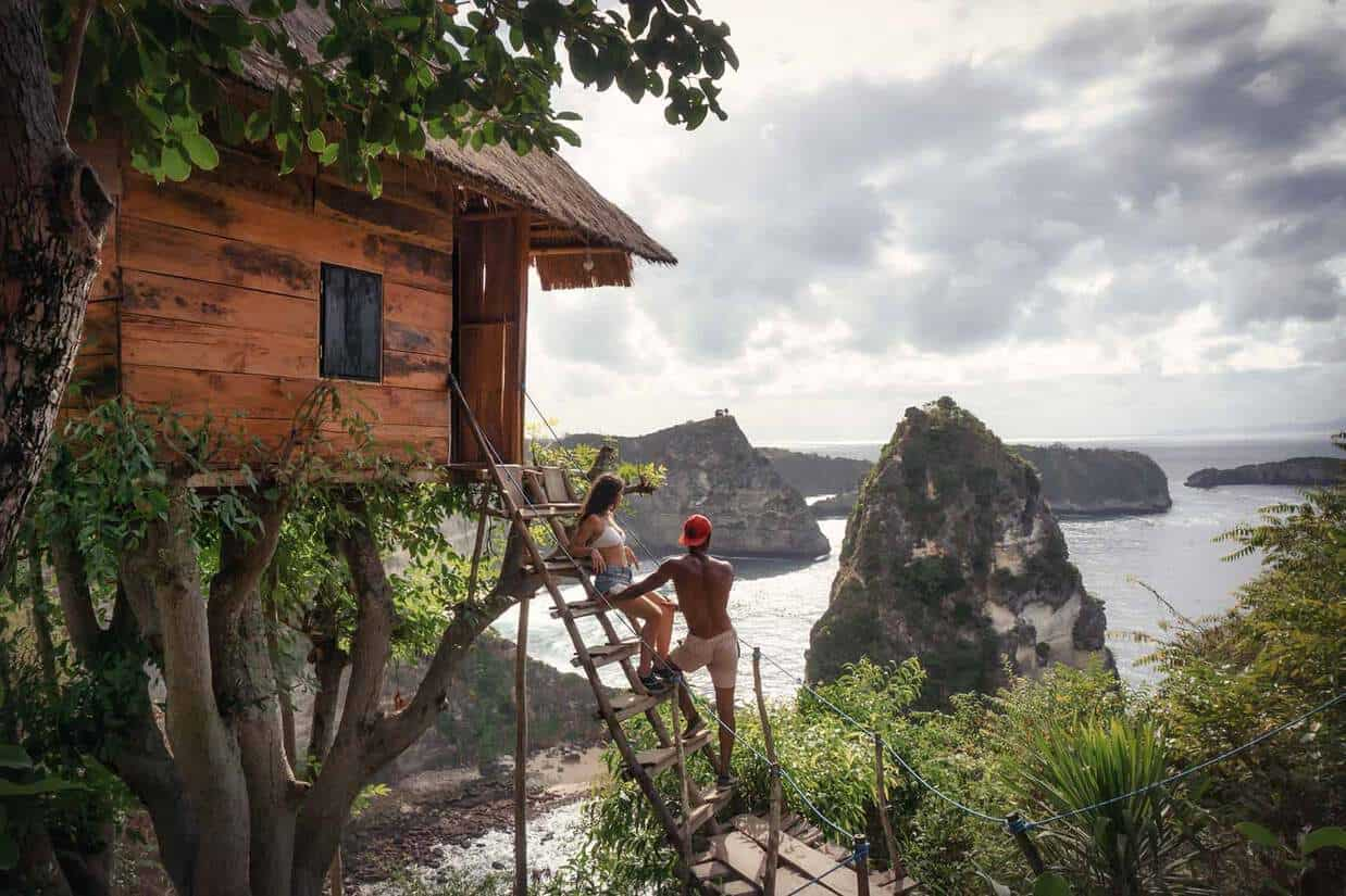 best places to stay in nusa penida on a budget