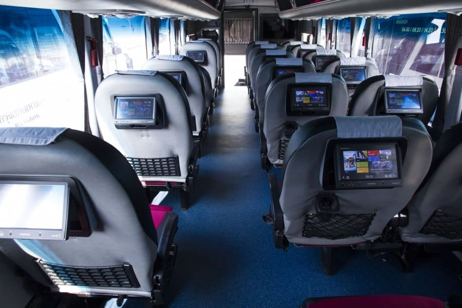 bus seats bangkok
