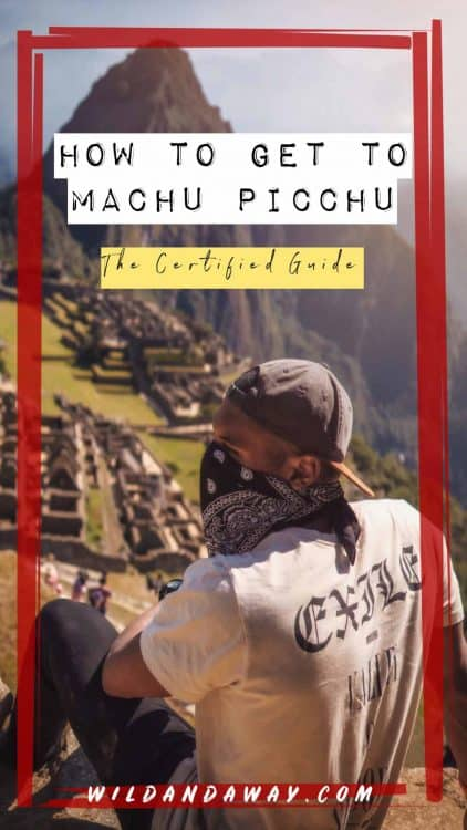 how to get to machu picchu pinterest
