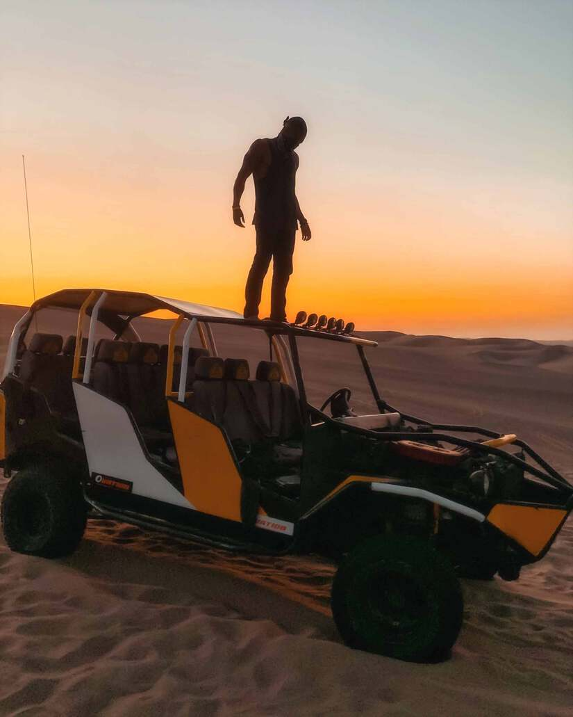 huacachina sunset tour with dune buggy