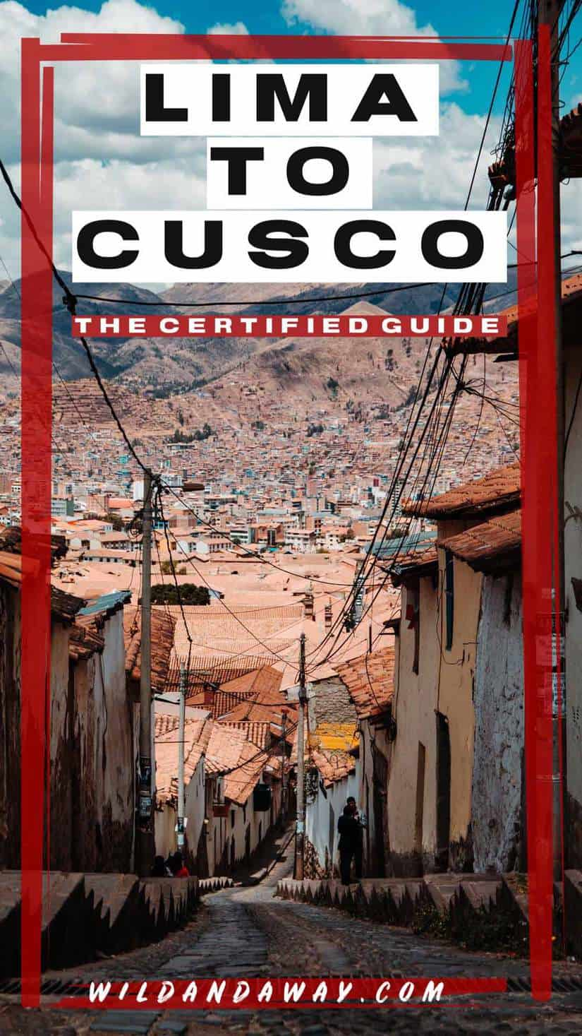 lima to cusco pinterest guide