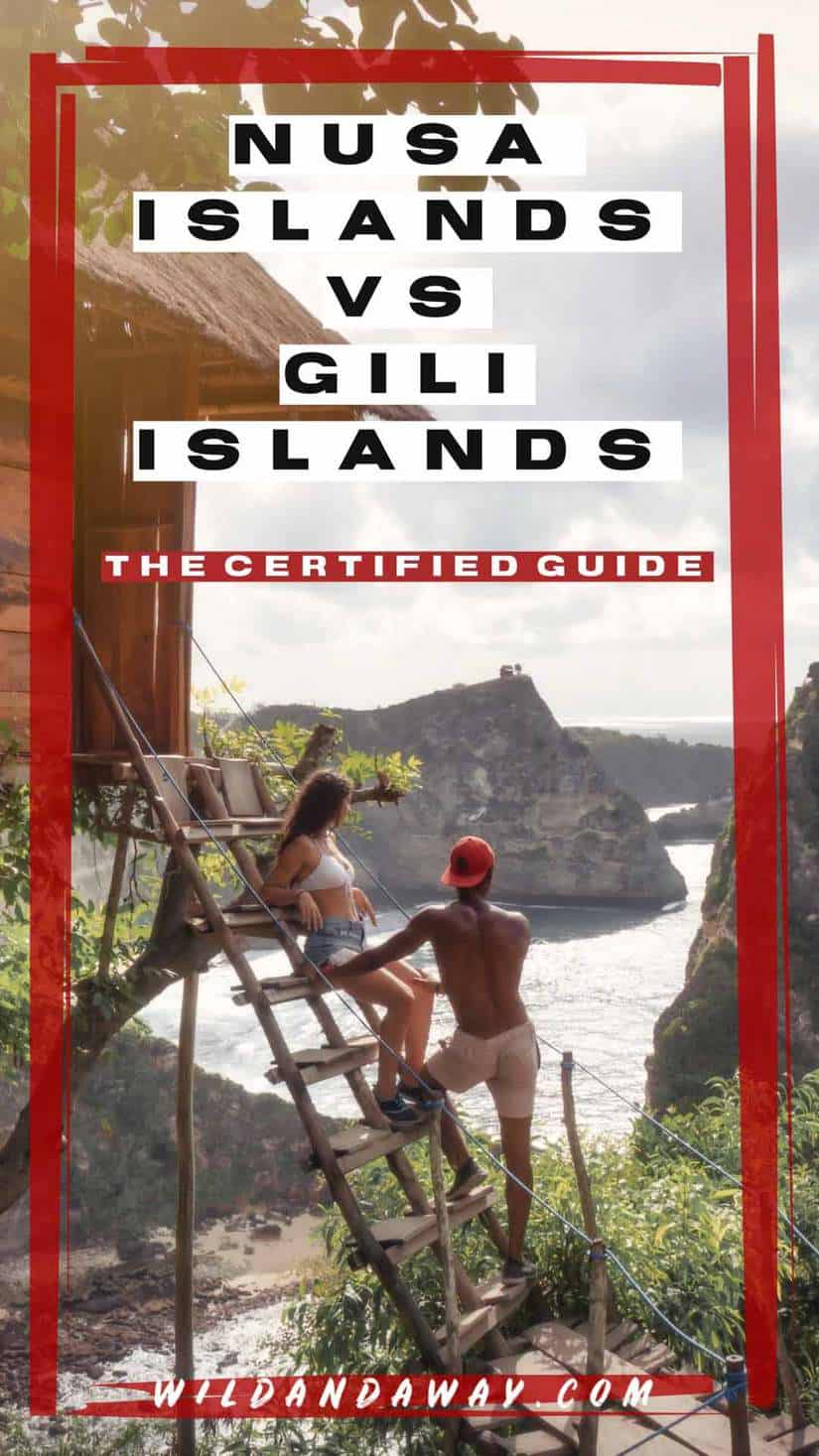 nusa islands or gili islands _ nusa pendia or gili trawangain pinterest