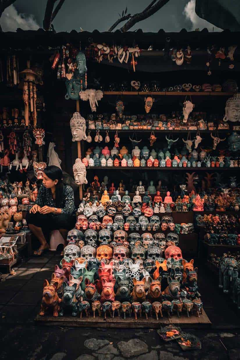 things to do in ubud bali art market