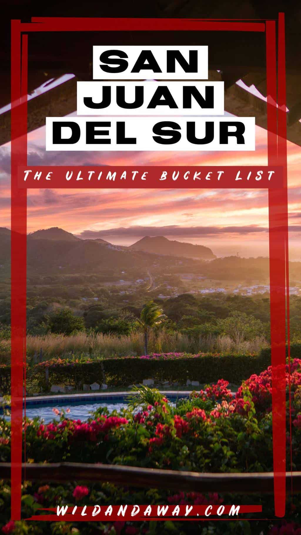 the best things to do in san juan del sur pinterest