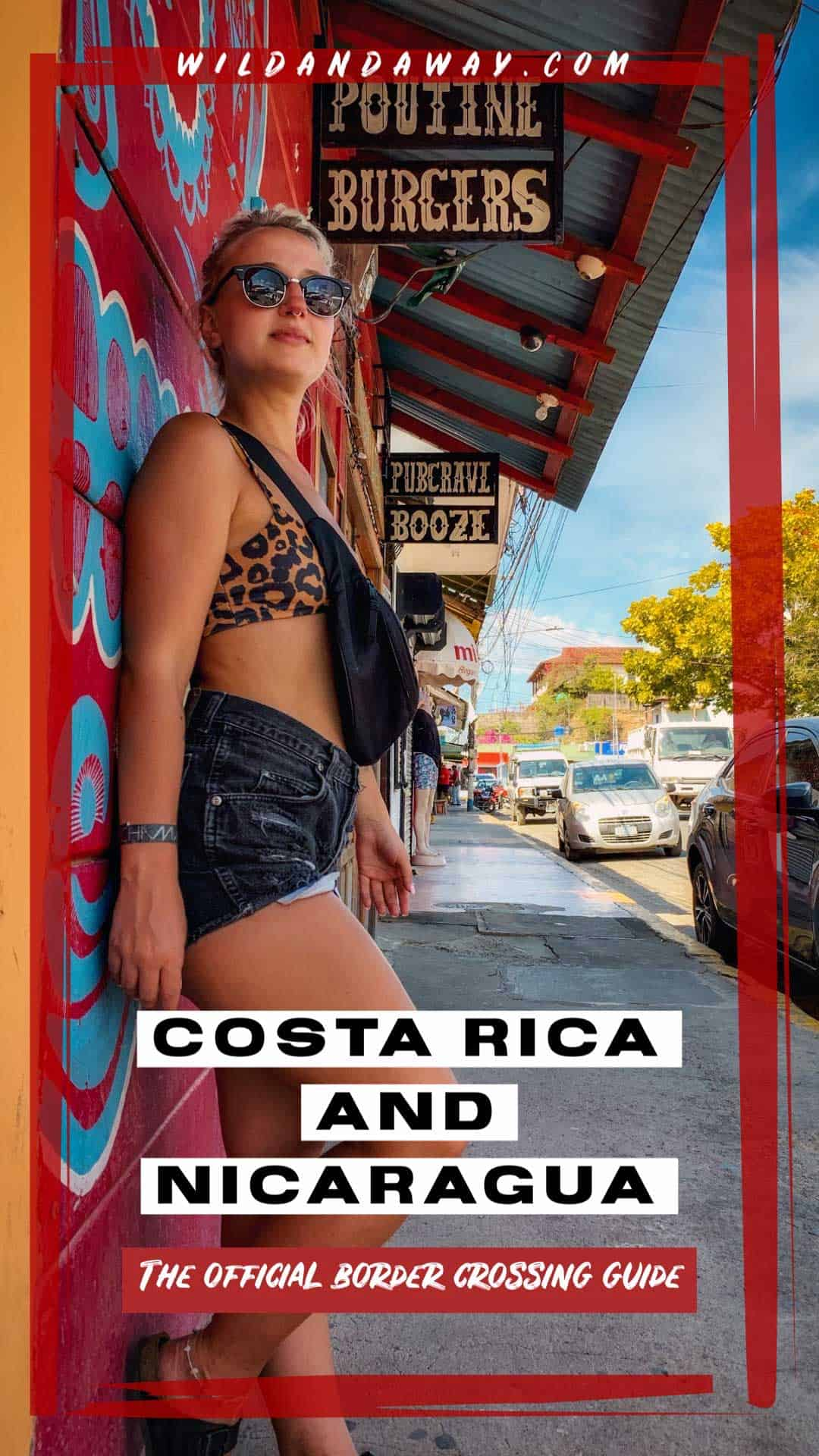 Costa Rica To Nicaragua Border Crossing pinterest