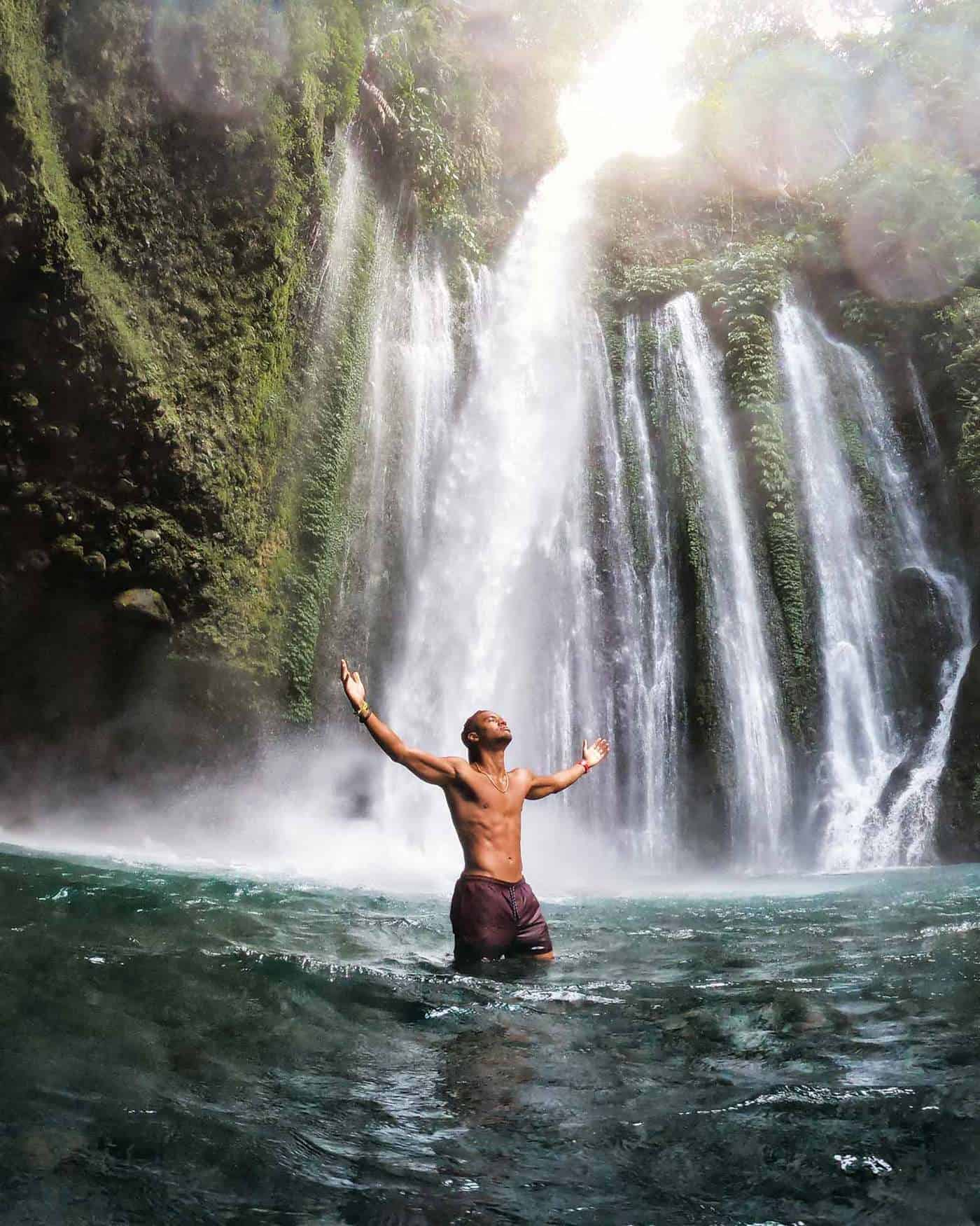 tiu kelep waterfall _ 3 weeks in bali itinerary